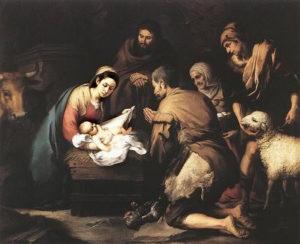 Natividad del Señor -Murillo