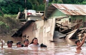 Destrozos del Huracán Mitch, en Nicaragua