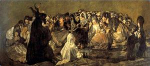 Aquelarre -Goya