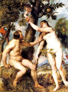 Adán y Eva -Rubens