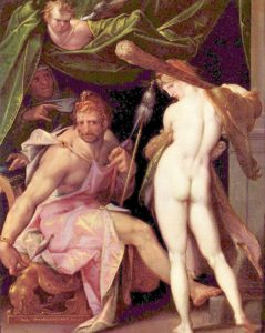Hércules y Onfalia -Deyanira