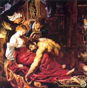 Sansón y Dalila -Rubens