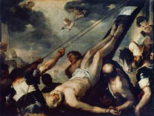 Crucifixión de Pedro