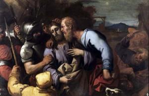 El beso de Judas -Luca Giordano