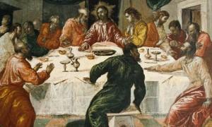 La última cena -El Greco