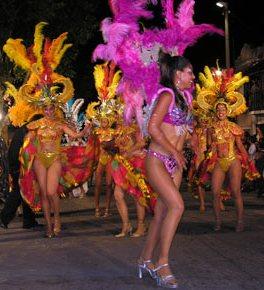 bailarinas de carnaval