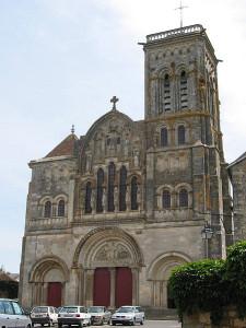 Basílica de Santa María Magdalena, Vezelay, Francia.