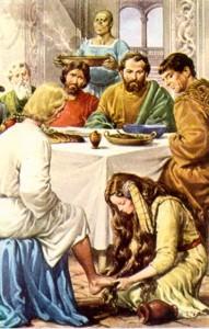 Cena en Betania