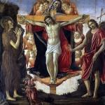 Santísima Trinidad y María Magdalena -Botticelli