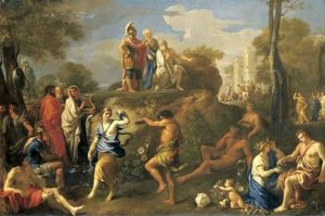 Eneas y Anquises en el Hades -Alexandre Ubeleski