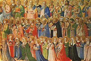 Todos los santos -Fran Angélico